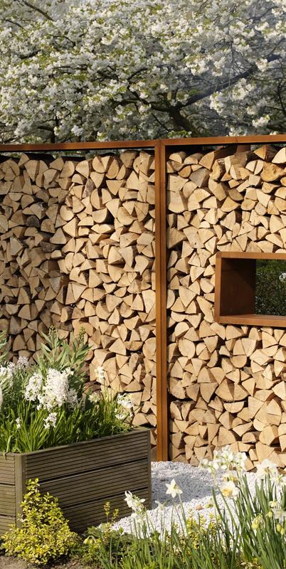 Alex Gisbertz dealer Garden divider houtopslag van ZENO