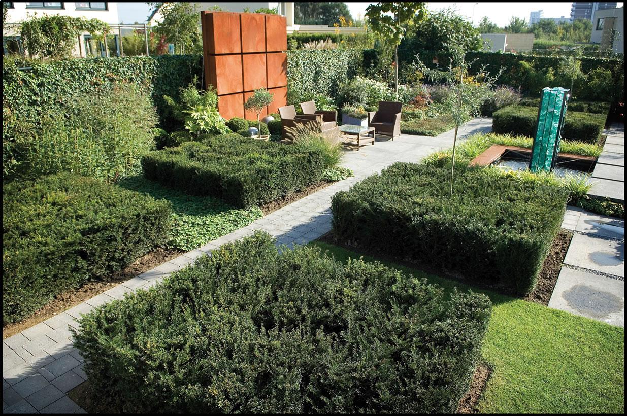 Strakke tuinen archieven alex gisbertz tuinarchitectuur tuinaanleg en tuinonderhoud - Ontwerp kind ...